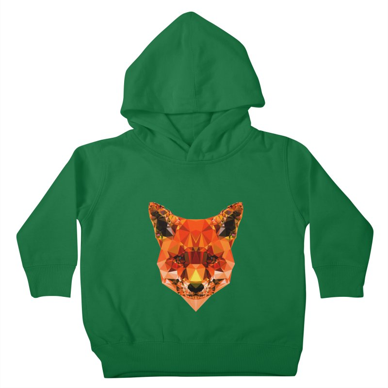 Fox Kids Toddler Pullover Hoody by Andreas Lie