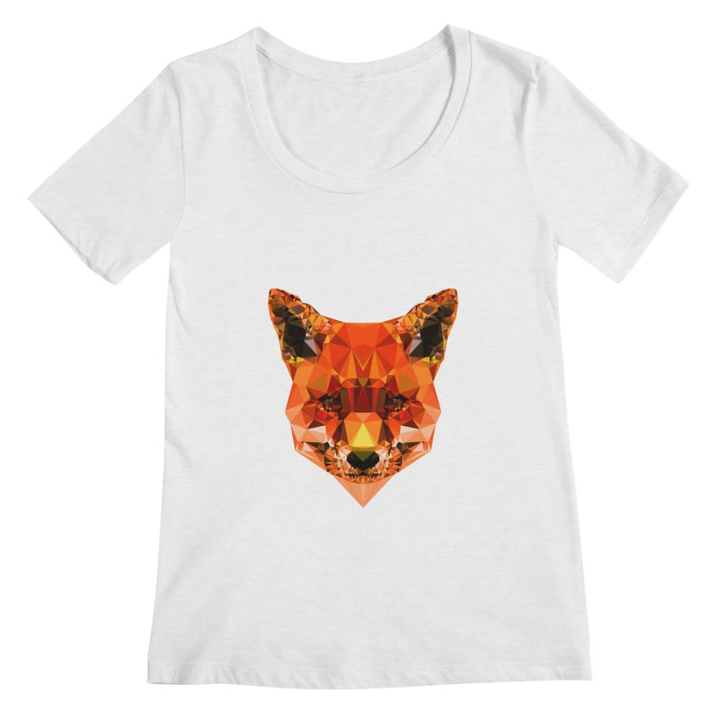 Fox Women's Scoopneck by Andreas Lie