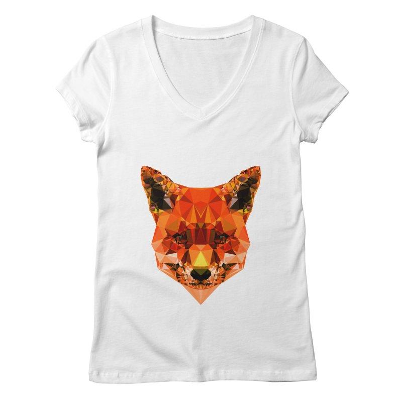 Fox Women's Regular V-Neck by Andreas Lie