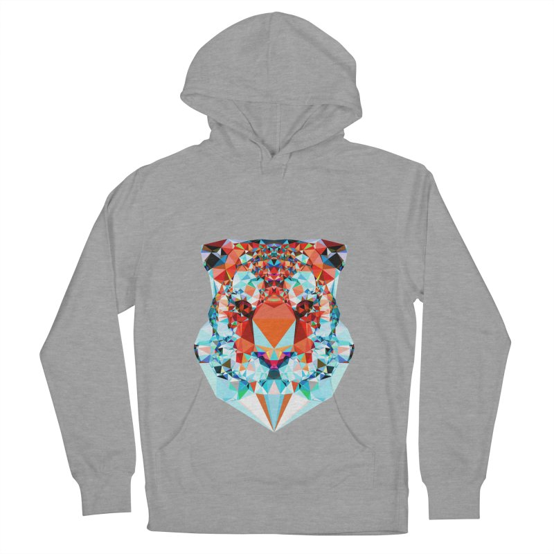 Tiger Women's French Terry Pullover Hoody by Andreas Lie