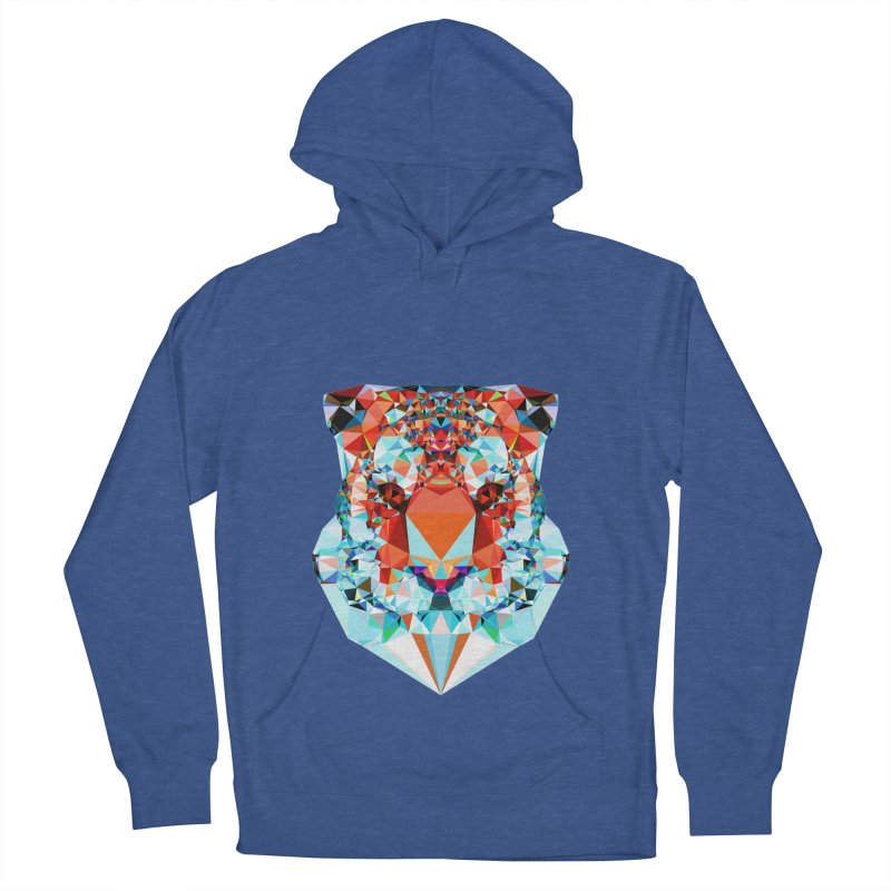 Tiger Men's French Terry Pullover Hoody by Andreas Lie