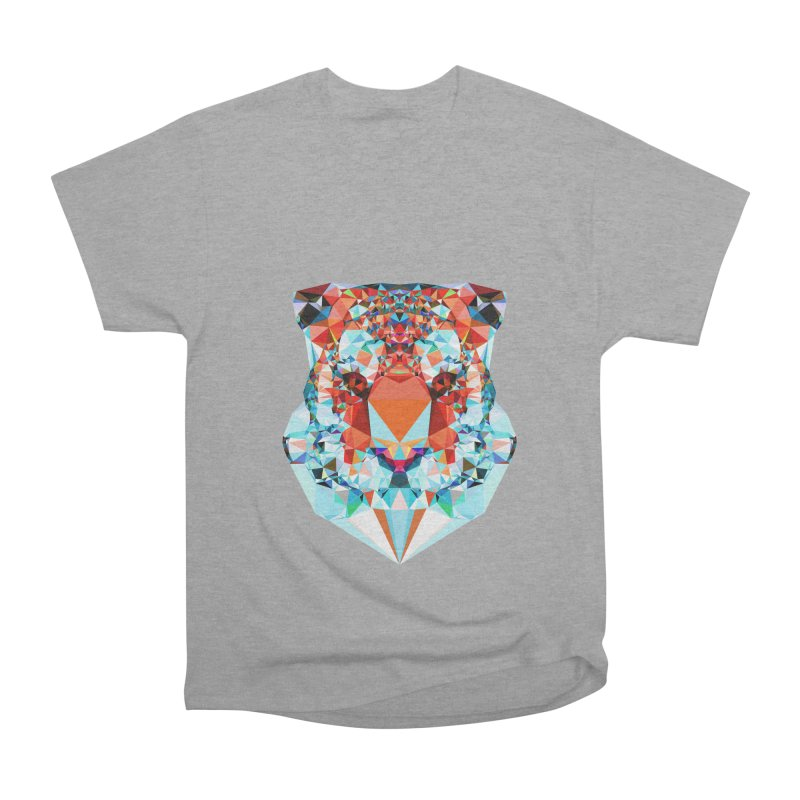 Tiger Women's Heavyweight Unisex T-Shirt by Andreas Lie