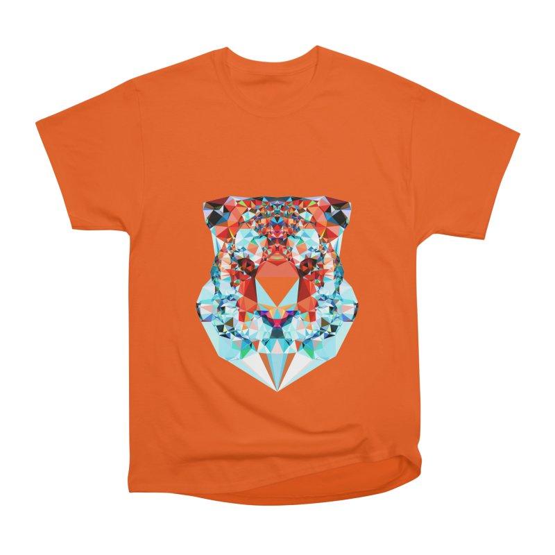 Tiger Women's Heavyweight Unisex T-Shirt by Andreas Lie