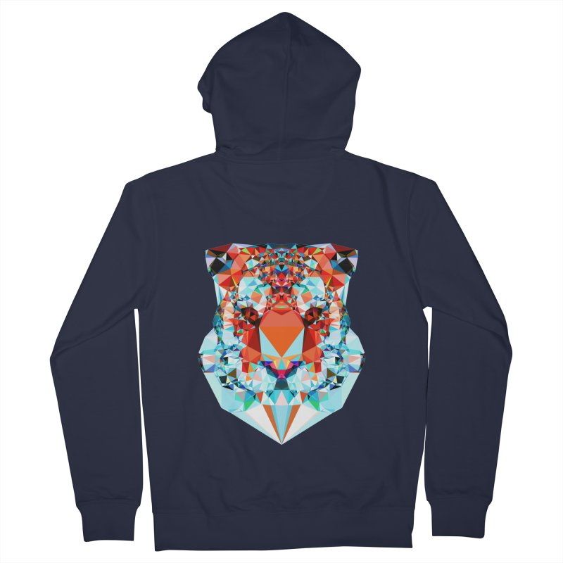 Tiger Women's Zip-Up Hoody by Andreas Lie