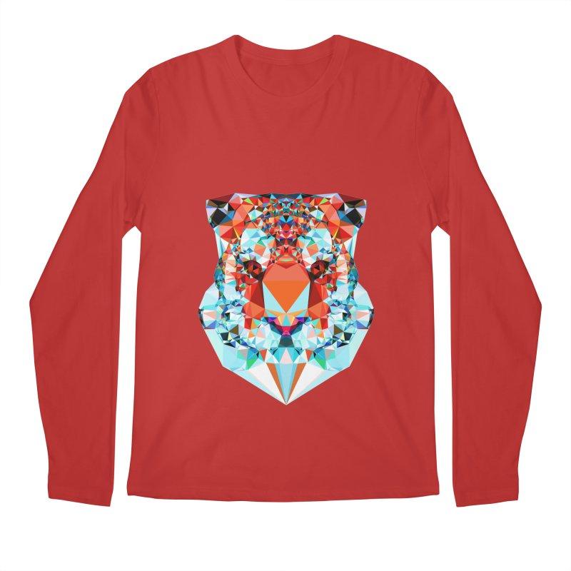 Tiger Men's Regular Longsleeve T-Shirt by Andreas Lie