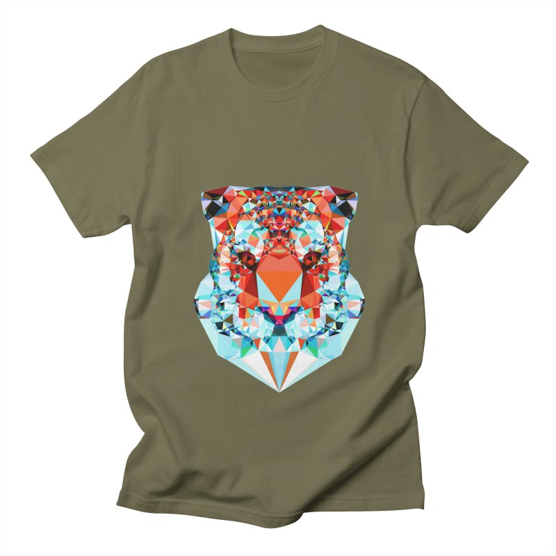 Tiger Men's T-Shirt by Andreas Lie