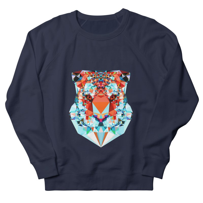 Tiger Men's French Terry Sweatshirt by Andreas Lie