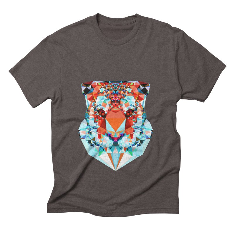 Tiger Men's Triblend T-Shirt by Andreas Lie