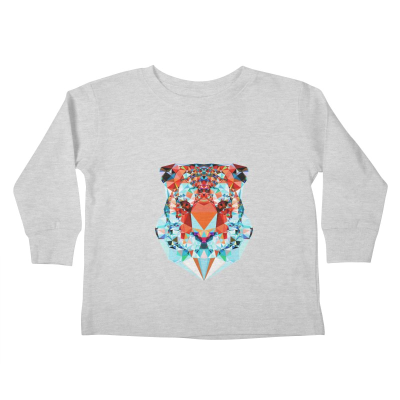 Tiger Kids Toddler Longsleeve T-Shirt by Andreas Lie