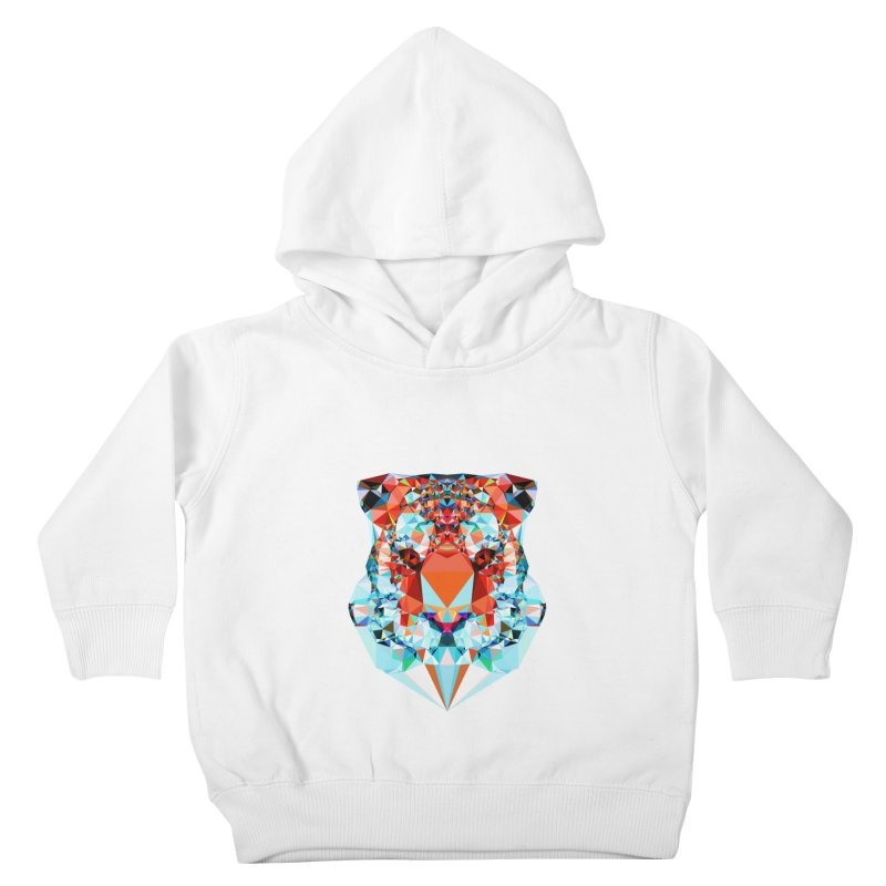 Tiger Kids Toddler Pullover Hoody by Andreas Lie