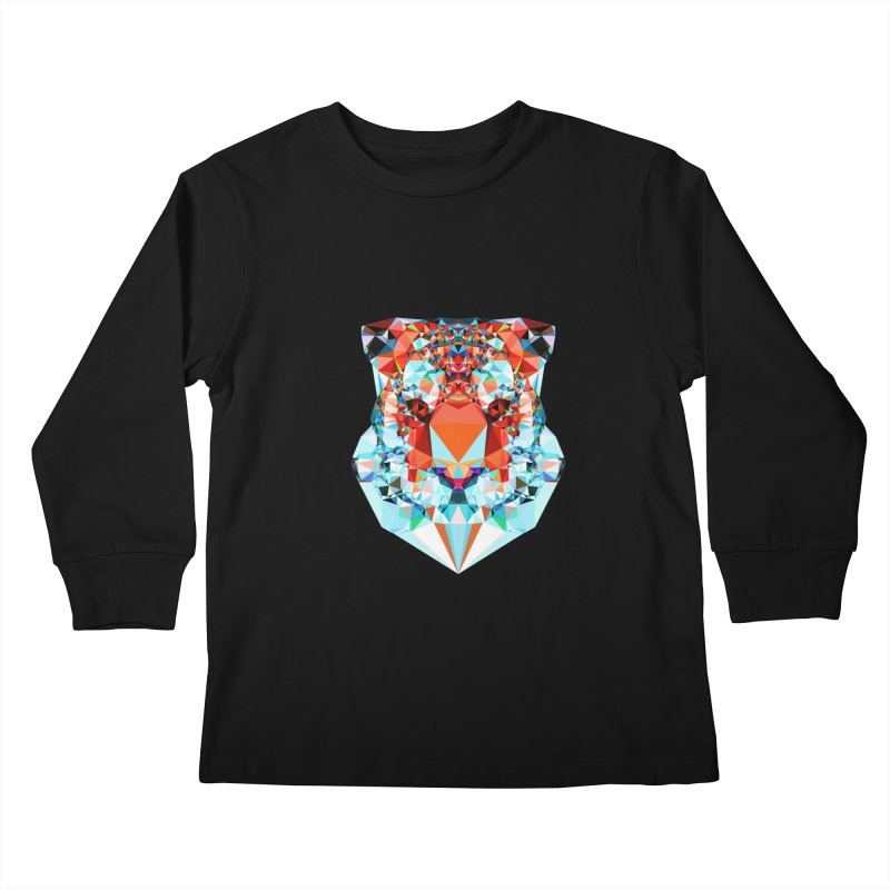 Tiger Kids Longsleeve T-Shirt by Andreas Lie