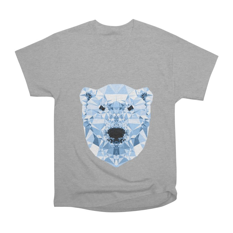 Geometric Polar Bear Men's Classic T-Shirt by Andreas Lie