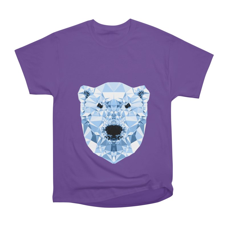 Geometric Polar Bear Men's Classic T-Shirt by Andreas Lie