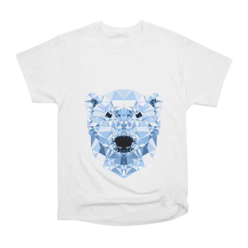 Geometric Polar Bear Women's Classic Unisex T-Shirt by Andreas Lie