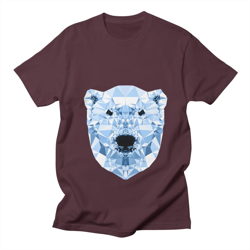 Geometric Polar Bear Women's Unisex T-Shirt by Andreas Lie
