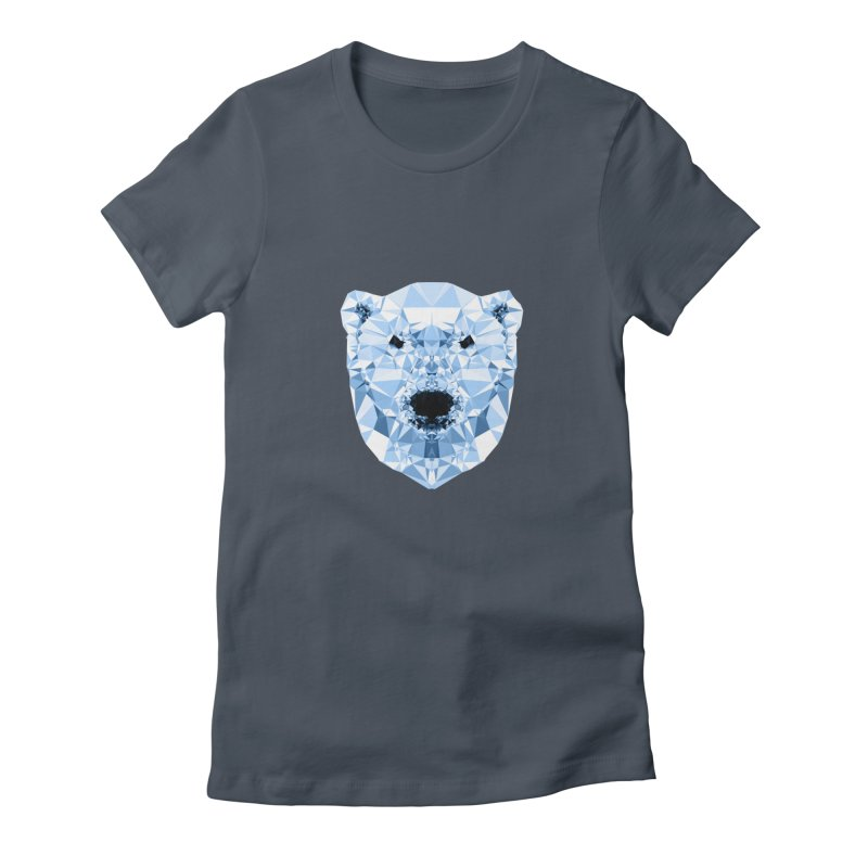 Geometric Polar Bear Women's T-Shirt by Andreas Lie
