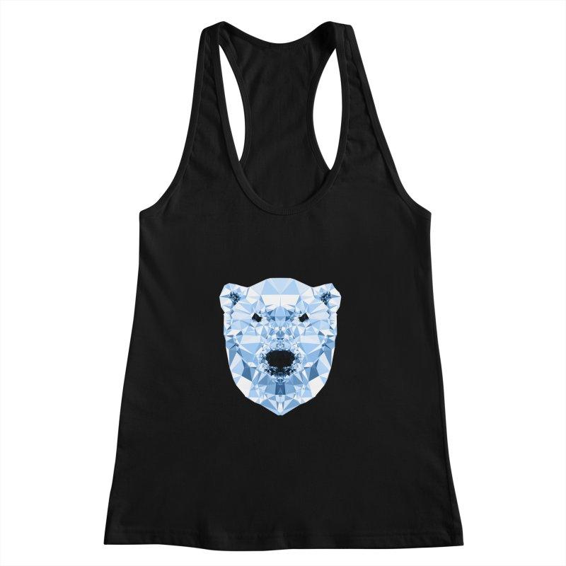 Geometric Polar Bear Women's  by Andreas Lie