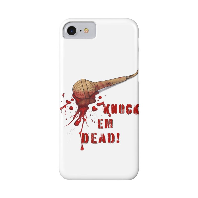 Knock Em Dead! Accessories Phone Case by Andrea Snider's Artist Shop