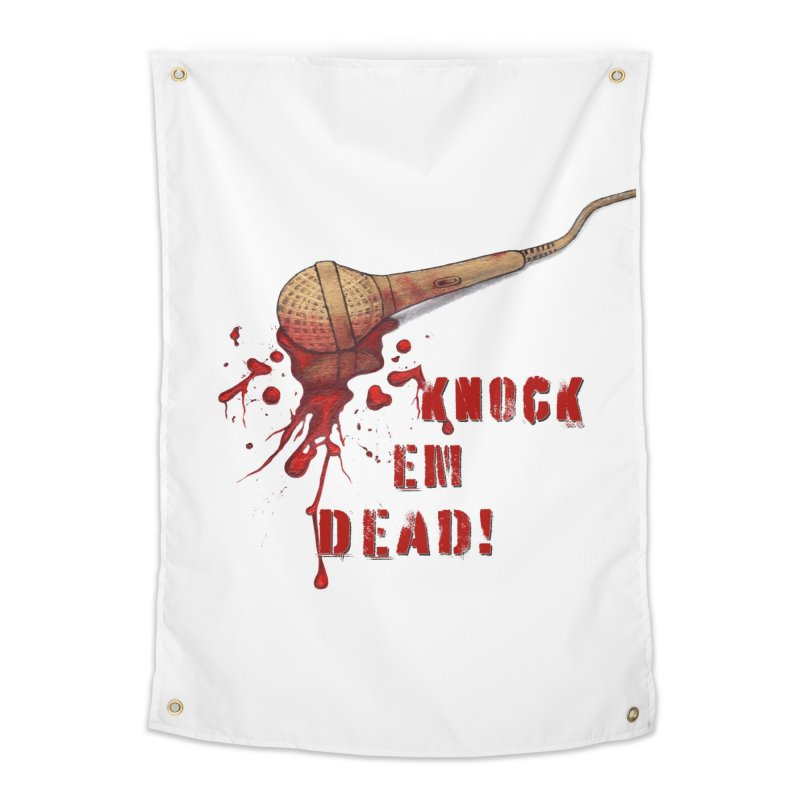 Knock Em Dead! Home Tapestry by Andrea Snider's Artist Shop