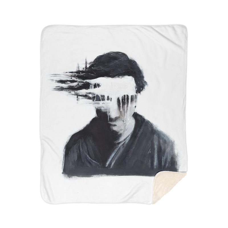 What's Not Seen. Home Sherpa Blanket Blanket by Andrea Snider's Artist Shop