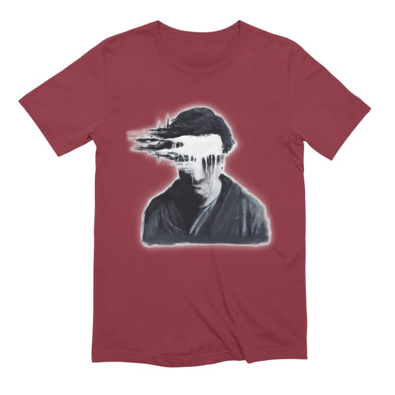 What's Not Seen. Men's Extra Soft T-Shirt by Andrea Snider's Artist Shop