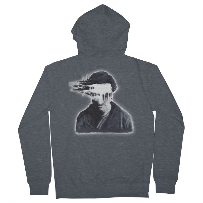 What's Not Seen. Women's French Terry Zip-Up Hoody by Andrea Snider's Artist Shop