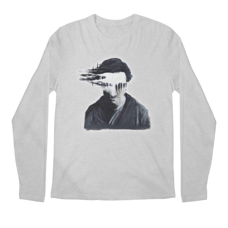 What's Not Seen. Men's Regular Longsleeve T-Shirt by Andrea Snider's Artist Shop