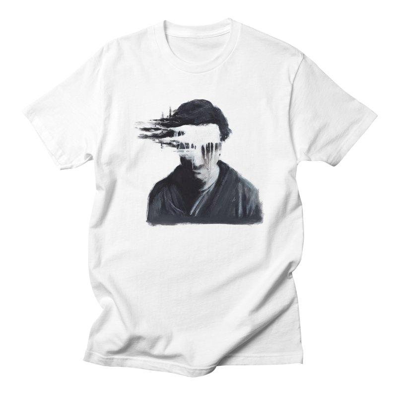 What's Not Seen. Men's Regular T-Shirt by Andrea Snider's Artist Shop