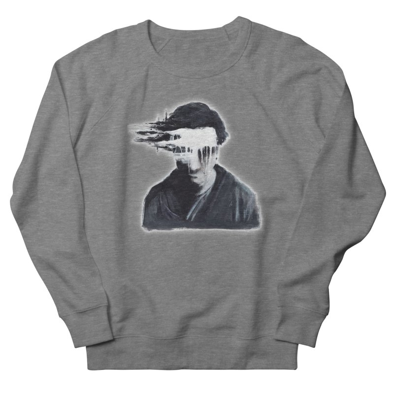 What's Not Seen. Men's French Terry Sweatshirt by Andrea Snider's Artist Shop
