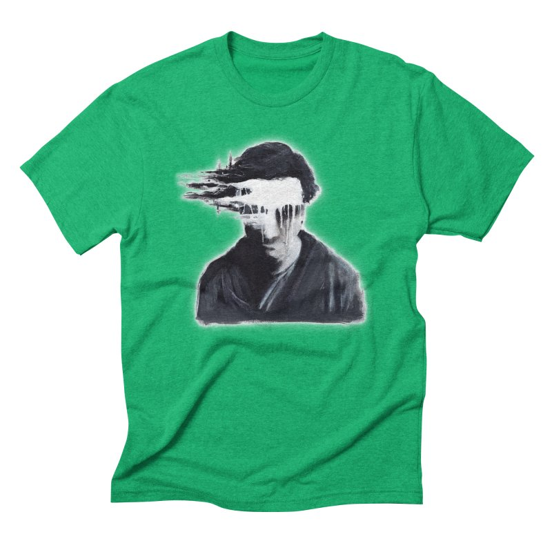 What's Not Seen. Men's Triblend T-Shirt by Andrea Snider's Artist Shop