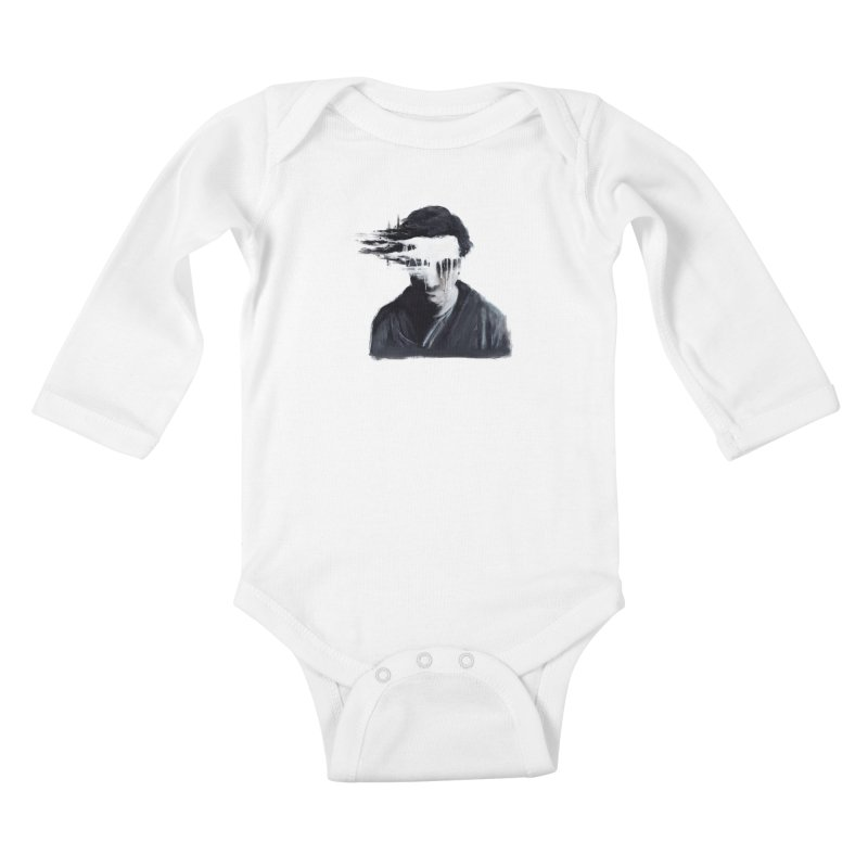 What's Not Seen. Kids Baby Longsleeve Bodysuit by Andrea Snider's Artist Shop