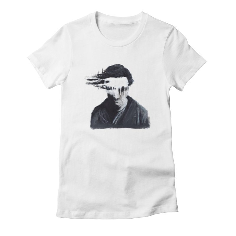 What's Not Seen. Women's Fitted T-Shirt by Andrea Snider's Artist Shop