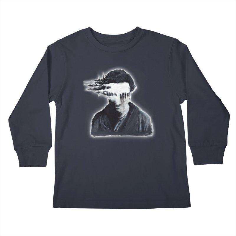 What's Not Seen. Kids Longsleeve T-Shirt by Andrea Snider's Artist Shop