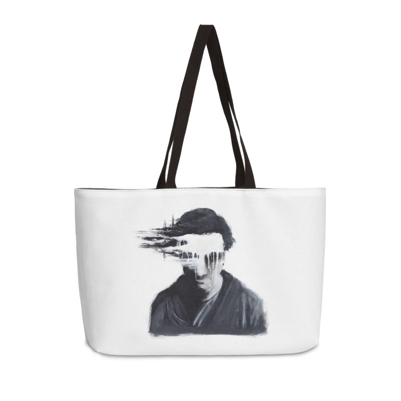 What's Not Seen. Accessories Weekender Bag Bag by Andrea Snider's Artist Shop