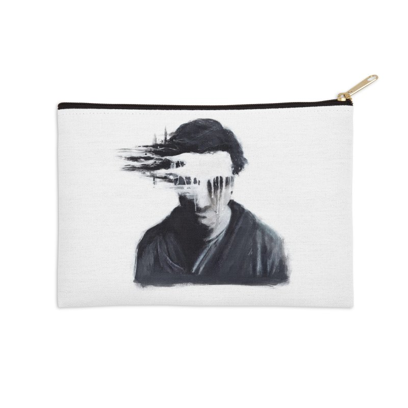 What's Not Seen. Accessories Zip Pouch by Andrea Snider's Artist Shop
