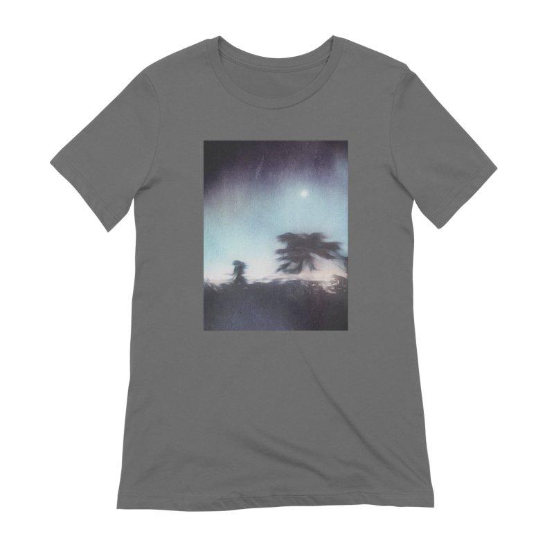 Keep Running. Women's Extra Soft T-Shirt by Andrea Snider's Artist Shop