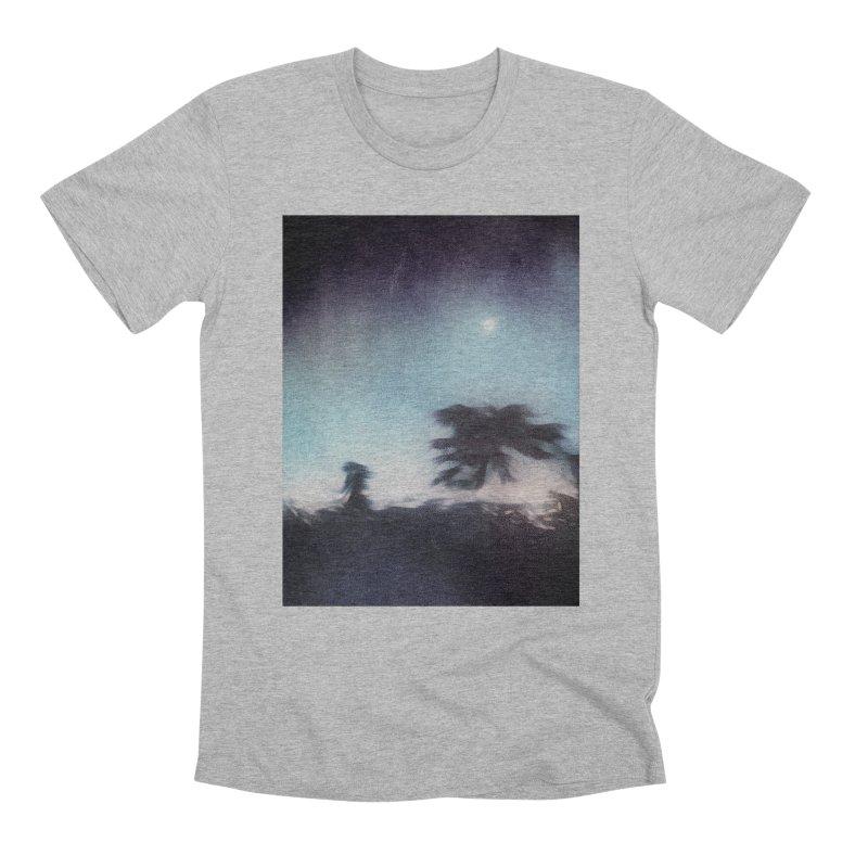 Keep Running. Men's Premium T-Shirt by Andrea Snider's Artist Shop