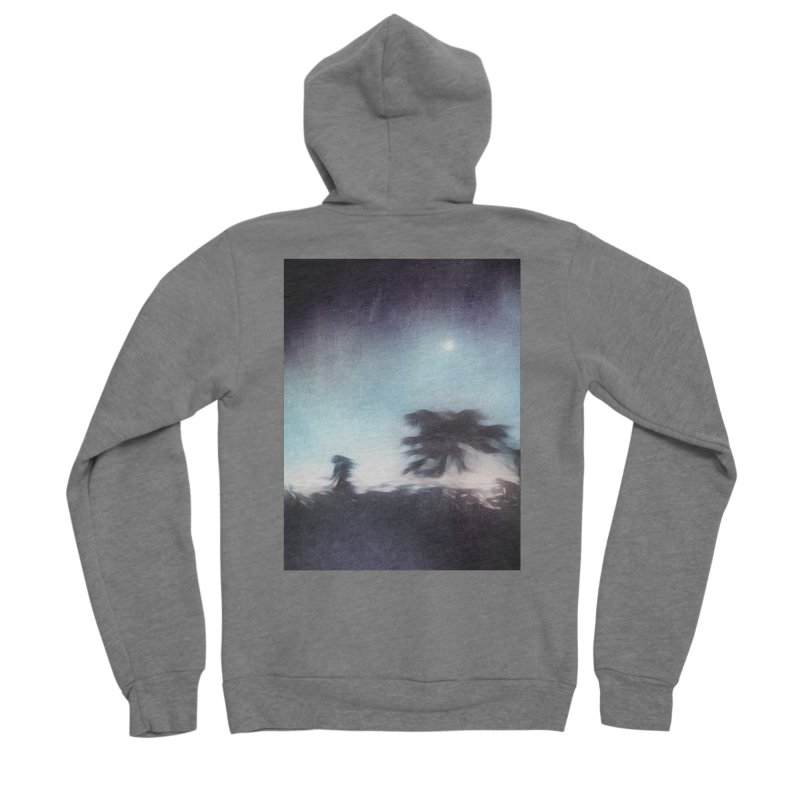 Keep Running. Men's Zip-Up Hoody by Andrea Snider's Artist Shop