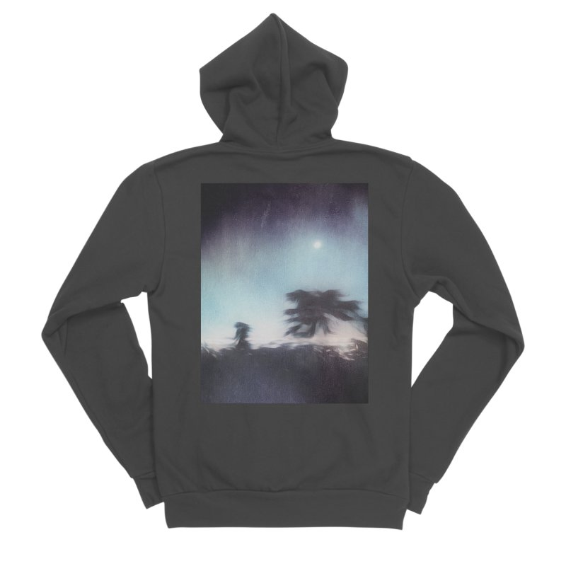 Keep Running. Women's Zip-Up Hoody by Andrea Snider's Artist Shop