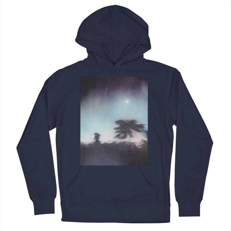 Keep Running. Men's French Terry Pullover Hoody by Andrea Snider's Artist Shop