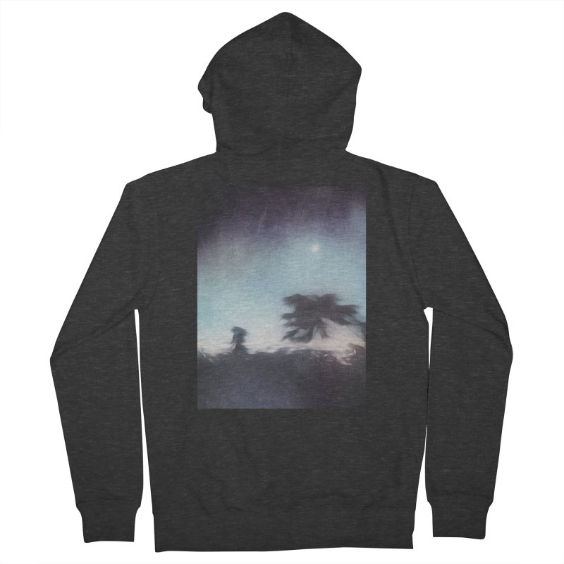 Keep Running. Women's French Terry Zip-Up Hoody by Andrea Snider's Artist Shop