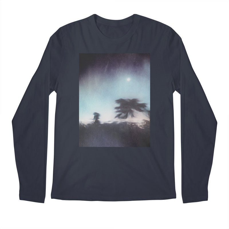 Keep Running. Men's Regular Longsleeve T-Shirt by Andrea Snider's Artist Shop