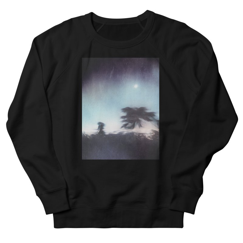 Keep Running. Women's French Terry Sweatshirt by Andrea Snider's Artist Shop