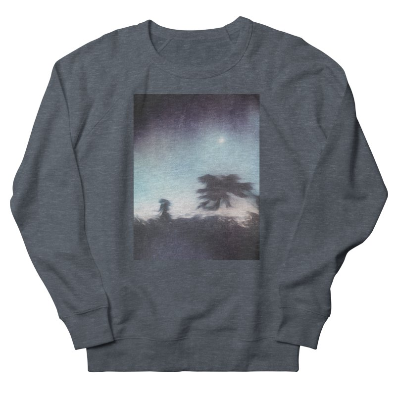 Keep Running. Men's French Terry Sweatshirt by Andrea Snider's Artist Shop
