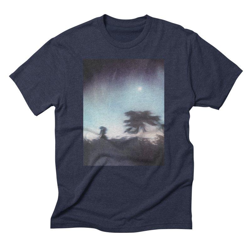 Keep Running. Men's Triblend T-Shirt by Andrea Snider's Artist Shop