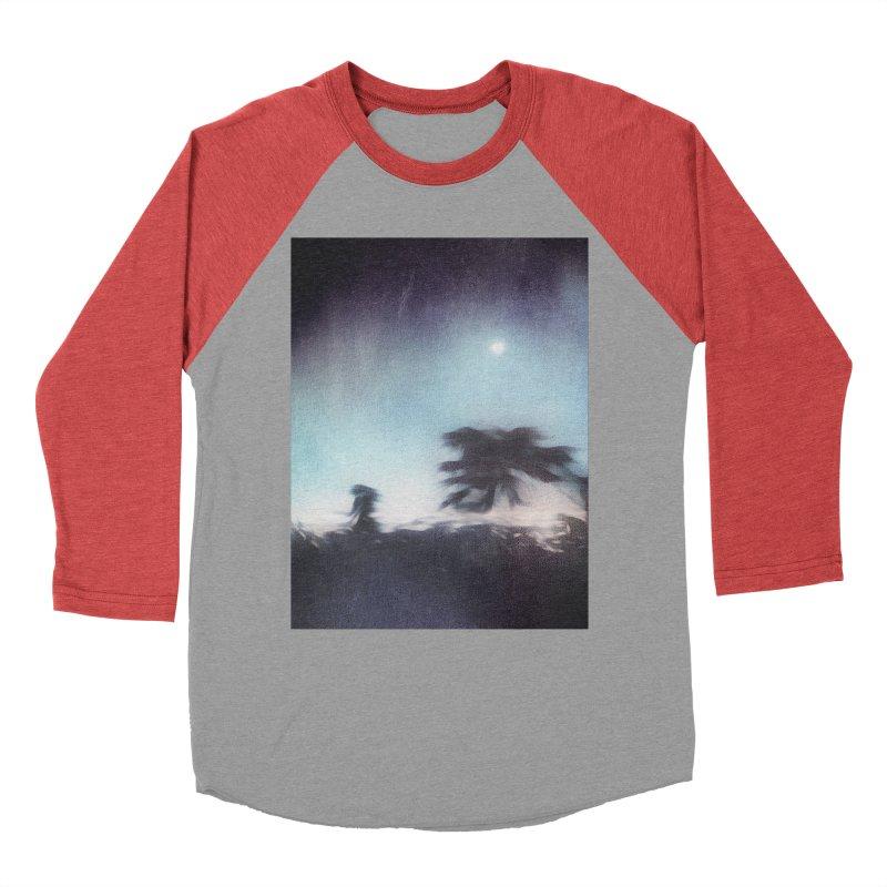 Keep Running. Men's Baseball Triblend Longsleeve T-Shirt by Andrea Snider's Artist Shop
