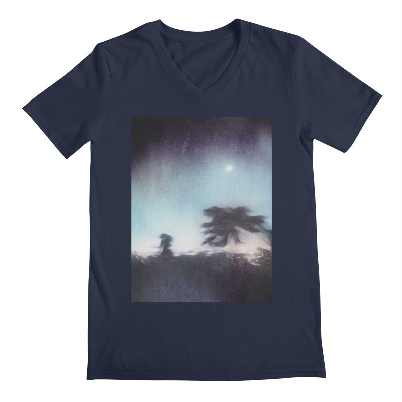 Keep Running. Men's V-Neck by Andrea Snider's Artist Shop