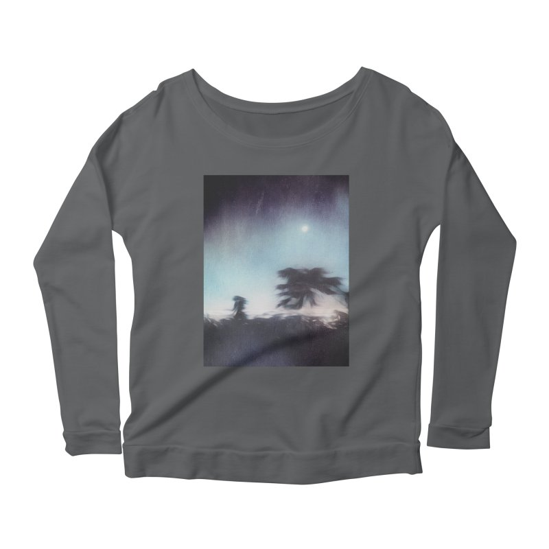 Keep Running. Women's Scoop Neck Longsleeve T-Shirt by Andrea Snider's Artist Shop