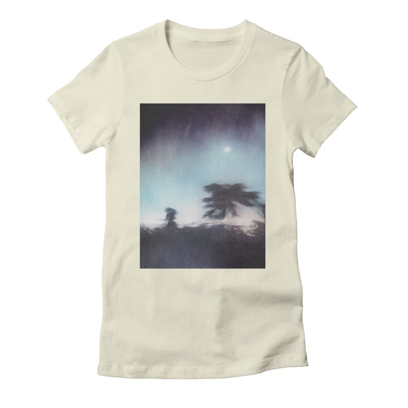 Keep Running. Women's Fitted T-Shirt by Andrea Snider's Artist Shop