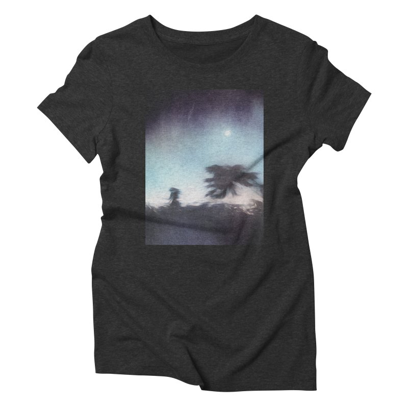 Keep Running. Women's Triblend T-Shirt by Andrea Snider's Artist Shop